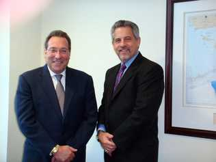 Jesse Diner, left, and Howard Talenfeld are working together to help Florida's foster care and vulnerable children.