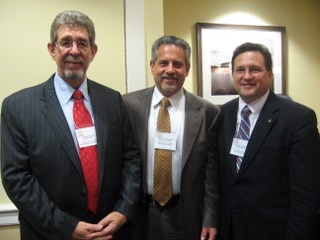 Michael Carris, Howard Talenfeld, and the Hon. Mark Pafford