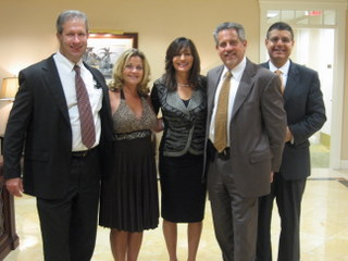 FCF Board of Directors: Richard Filson, Denise Manning, Julie Talenfeld, Howard Talenfeld, FCF President and Alan Mishael.