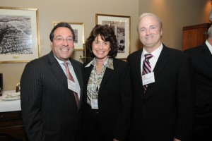 Honoree Jesse Diner, Adele Stone, and Broward Judge John Luzzo