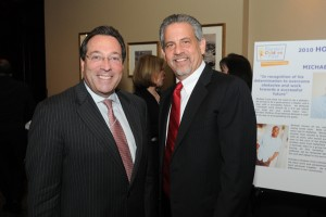 Jesse Diner and Howard Talenfeld at FCF event