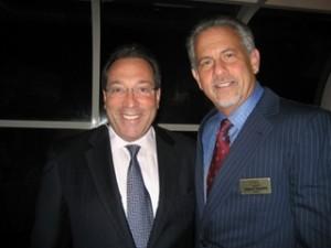 Advocate Jesse Diner and FCF President Howard Talenfeld