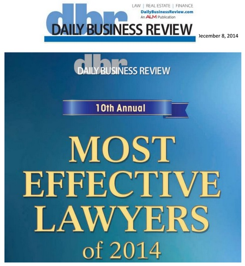 Talenfeld Most Effective Lawyers Award